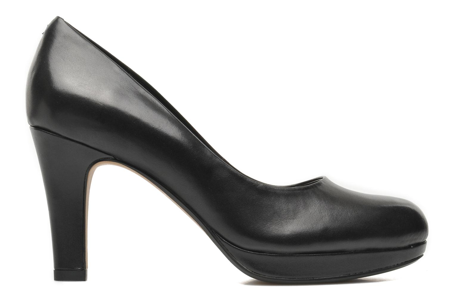 High heels Clarks Crisp Kendra Black back view