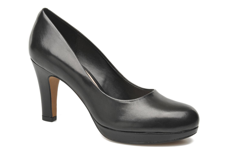 High heels Clarks Crisp Kendra Black detailed view/ Pair view