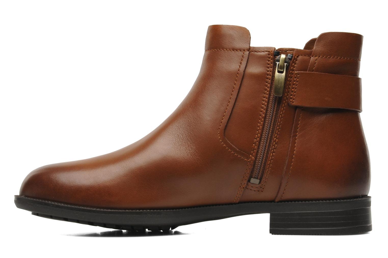 Bottines et boots Clarks Mint Jam GTX Marron vue face