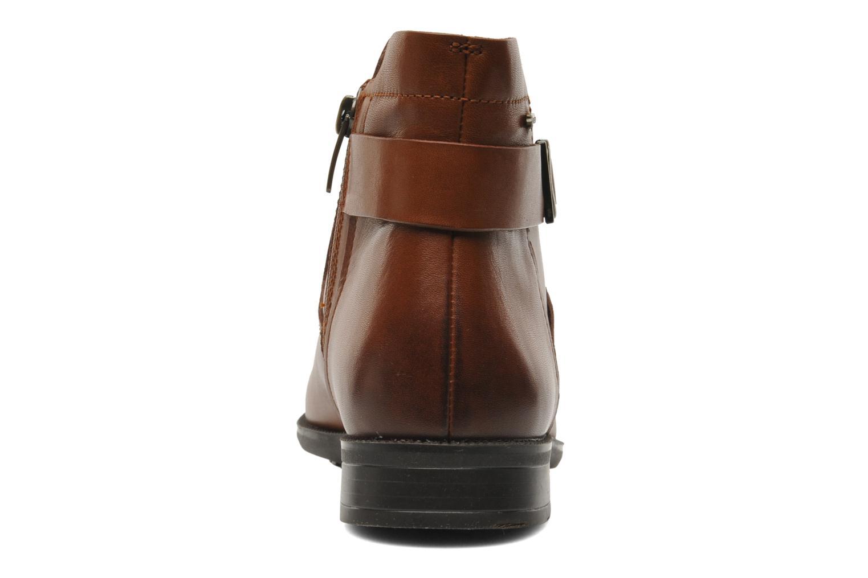 Bottines et boots Clarks Mint Jam GTX Marron vue droite