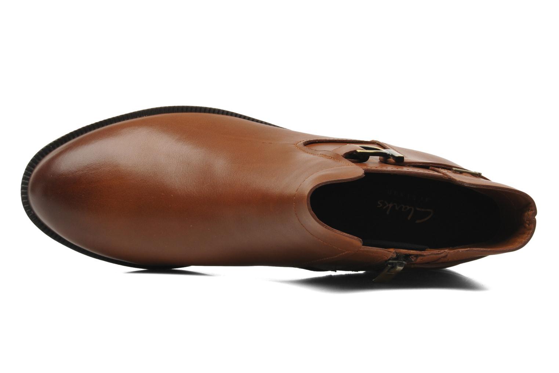 Bottines et boots Clarks Mint Jam GTX Marron vue gauche