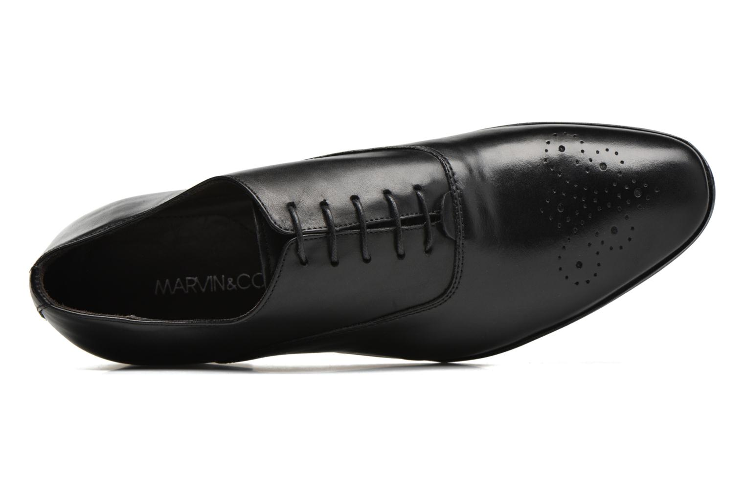 Lace-up shoes Marvin&co Narvie Black view from the left