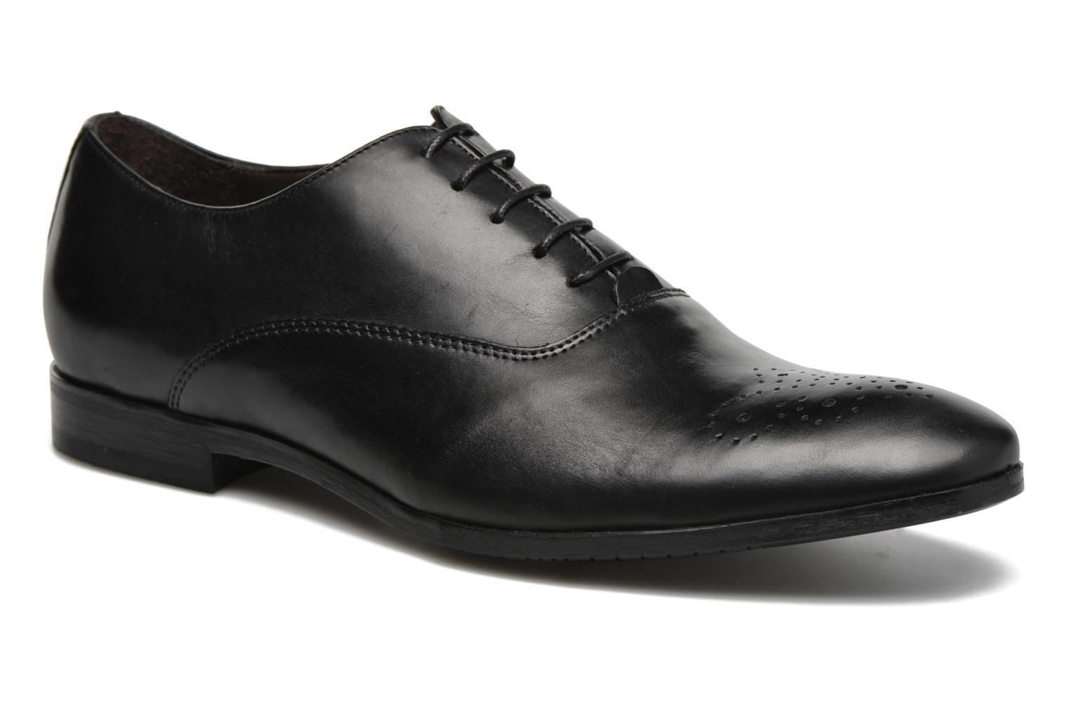 Lace-up shoes Marvin&co Narvie Black detailed view/ Pair view