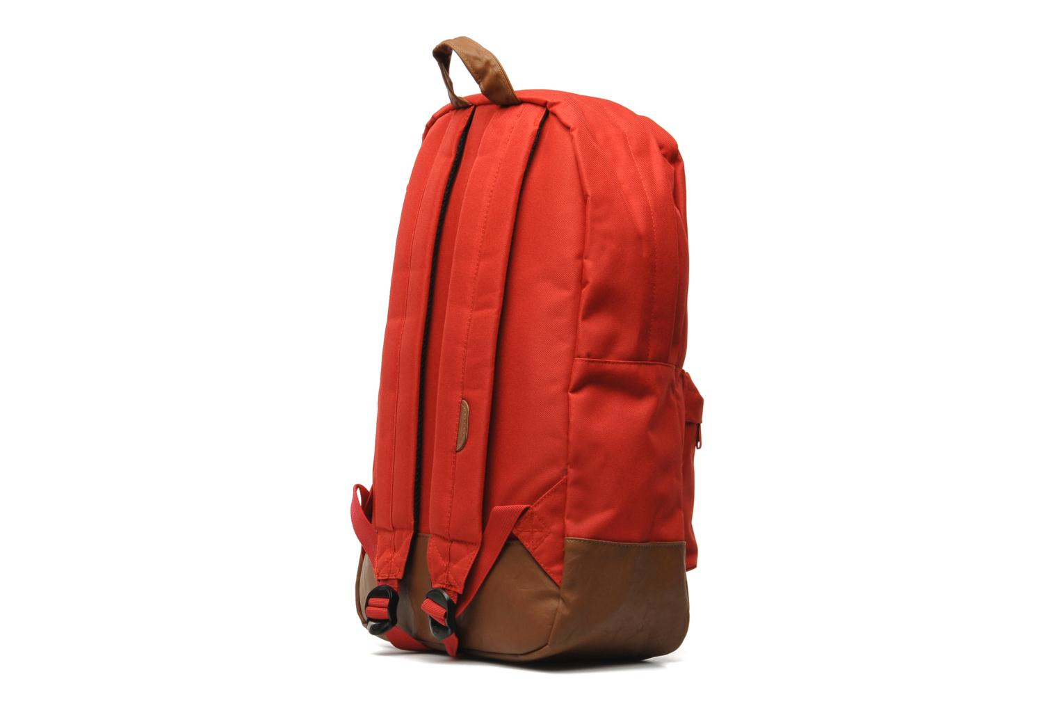 Rucksacks Herschel Heritage Red view from the right