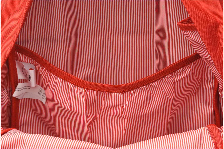Rucksäcke Herschel Heritage rot ansicht von hinten
