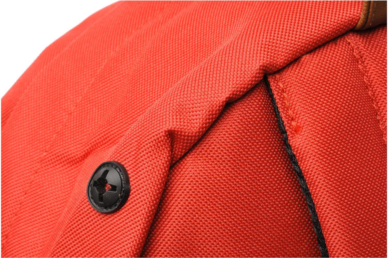 Mochilas Herschel Heritage Rojo vista lateral izquierda