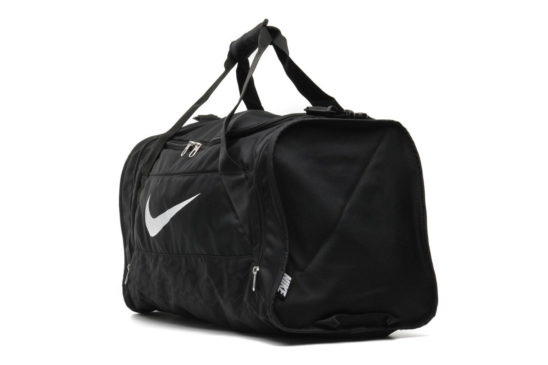 Sacs de sport Nike Brasilia 6 M Duffle Noir vue portées chaussures