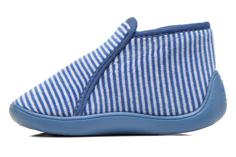 Chaussons Petit bateau PB Arles B Bleu vue face