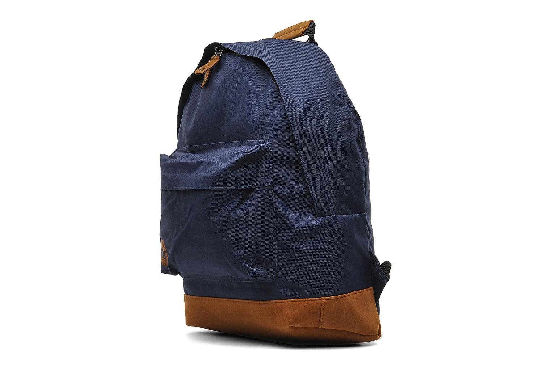 Mochilas Mi-Pac Classic Backpack Azul vista del modelo
