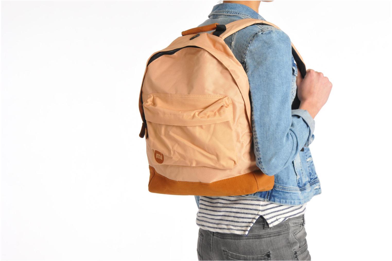 Rucksäcke Mi-Pac Classic Backpack blau ansicht von oben