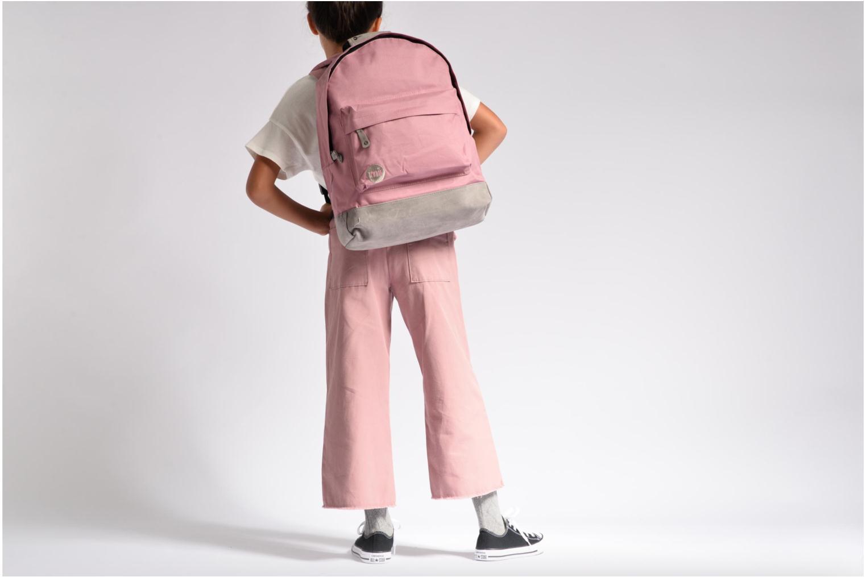 Rucksäcke Mi-Pac Classic Backpack rosa ansicht von oben