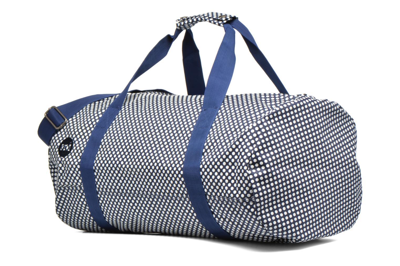 Bagages Mi-Pac Duffel Bleu vue portées chaussures