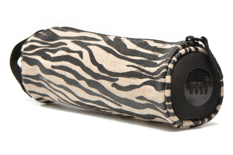 Cases Gold Canvas Zebra Blackwhite