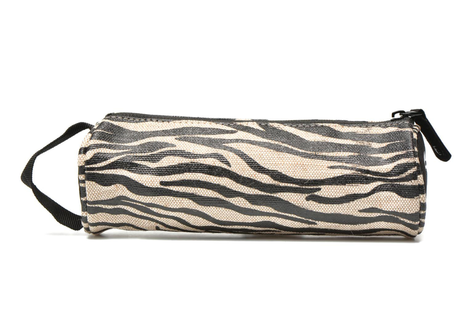 Cases Gold Canvas Zebra Blackwhite