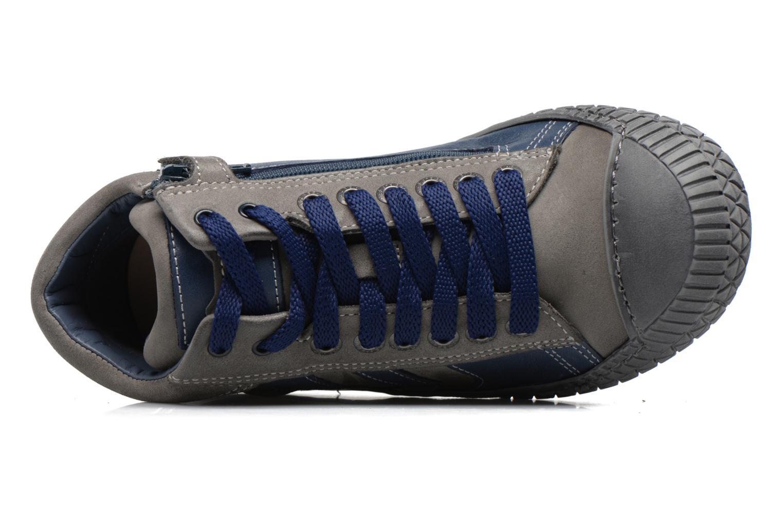 Sneaker Stones and Bones Niels blau ansicht von links