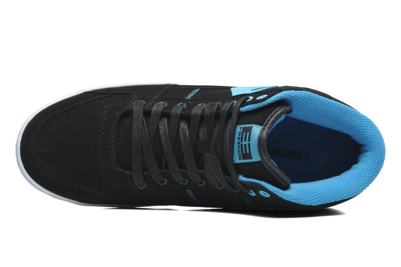 Trainers Freegun Fg Panamic Mi Black view from the left