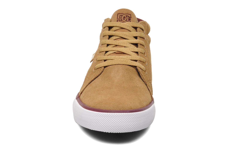 Baskets DC Shoes Council Mid Marron vue portées chaussures