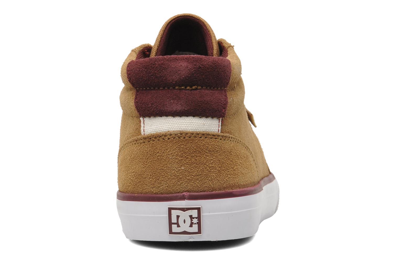 Baskets DC Shoes Council Mid Marron vue droite