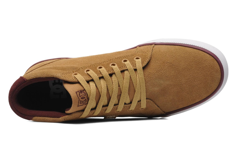 Baskets DC Shoes Council Mid Marron vue gauche