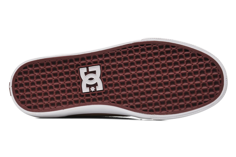Baskets DC Shoes Council Mid Marron vue haut