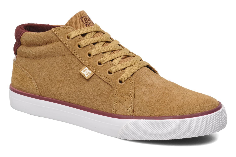 Baskets DC Shoes Council Mid Marron vue détail/paire