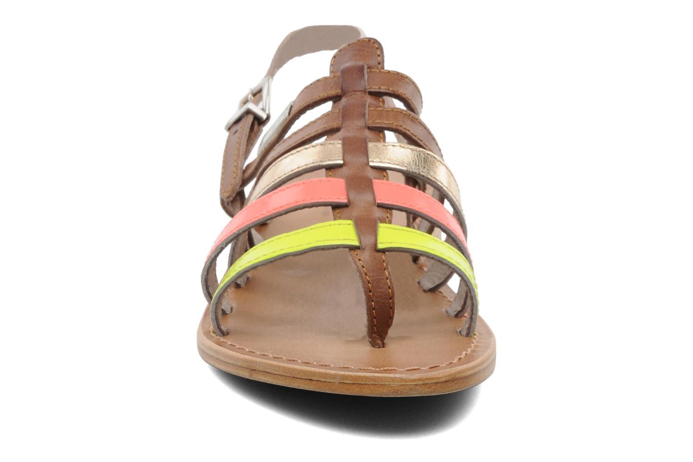 Sandalen Les Tropéziennes par M Belarbi Herijean braun schuhe getragen