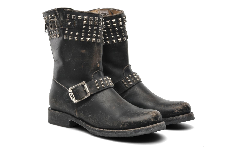Boots en enkellaarsjes Frye Veronica Biker Zip Zwart 3/4'