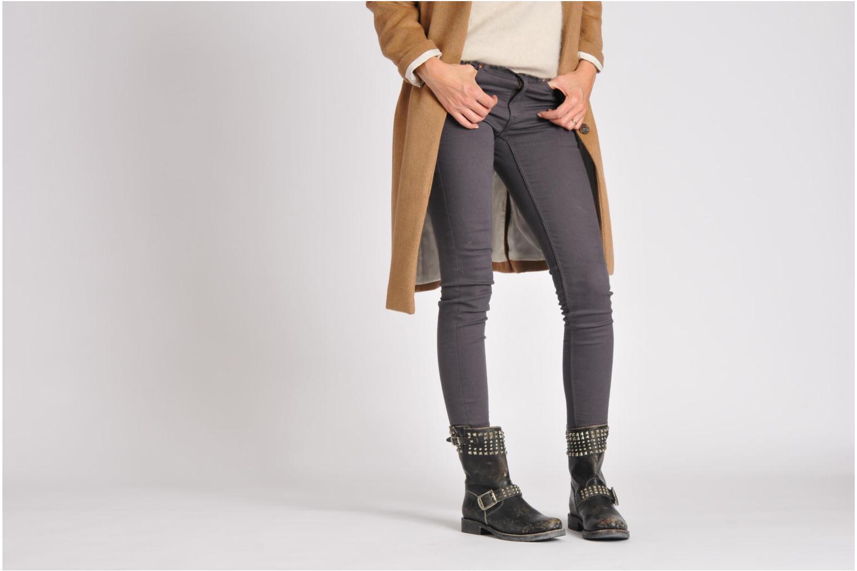 Boots en enkellaarsjes Frye Veronica Biker Zip Zwart onder