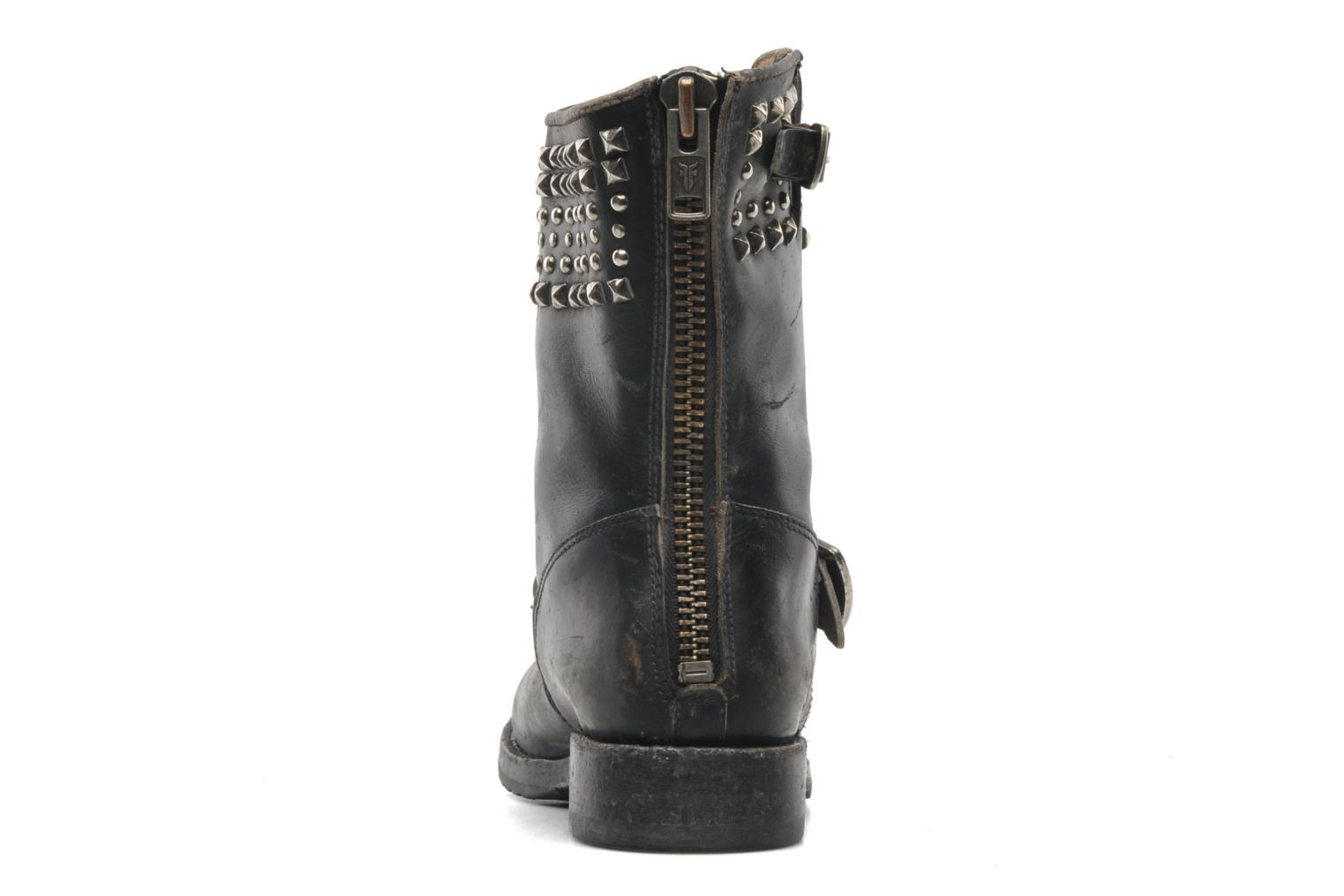 Veronica Biker Zip BLACK VINTAGE
