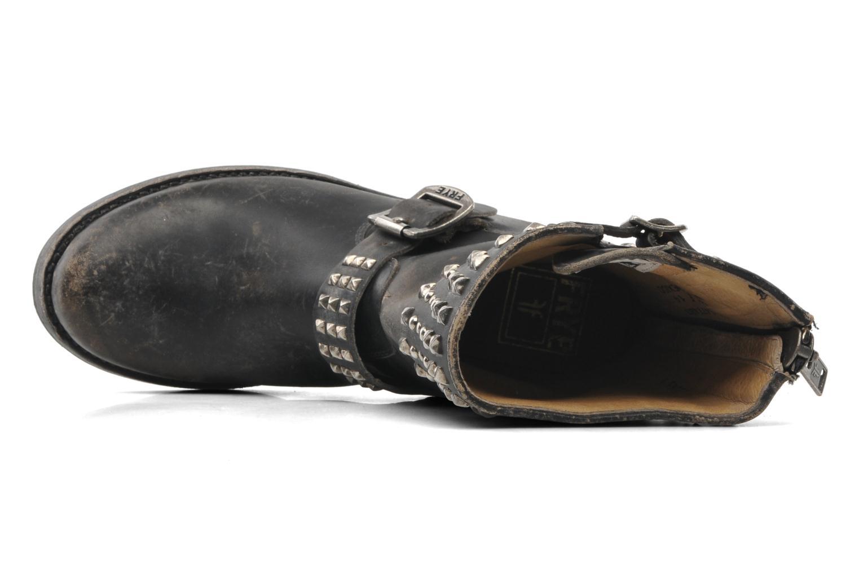 Boots en enkellaarsjes Frye Veronica Biker Zip Zwart links