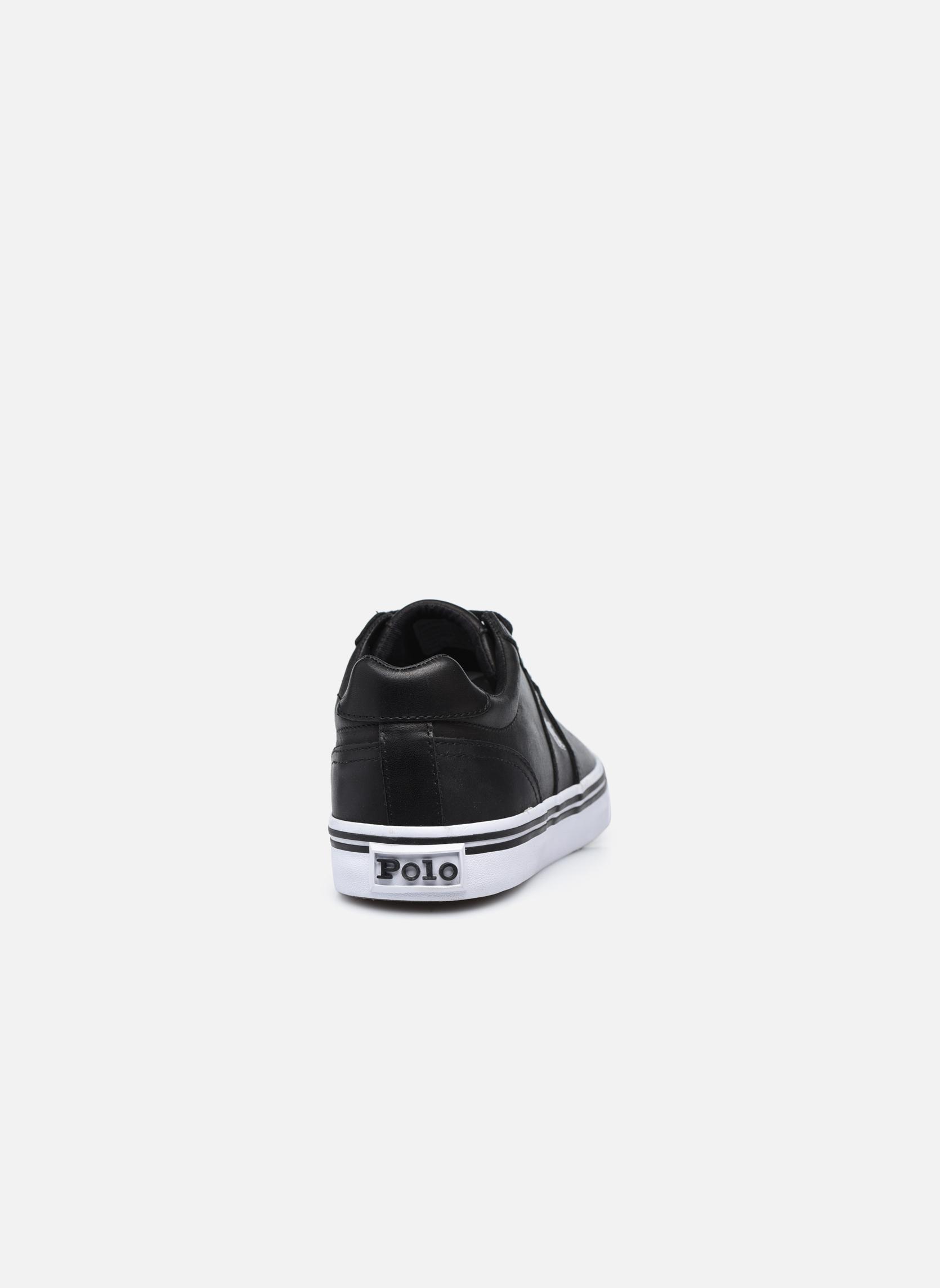 Sneakers Polo Ralph Lauren Hanford Zwart rechts