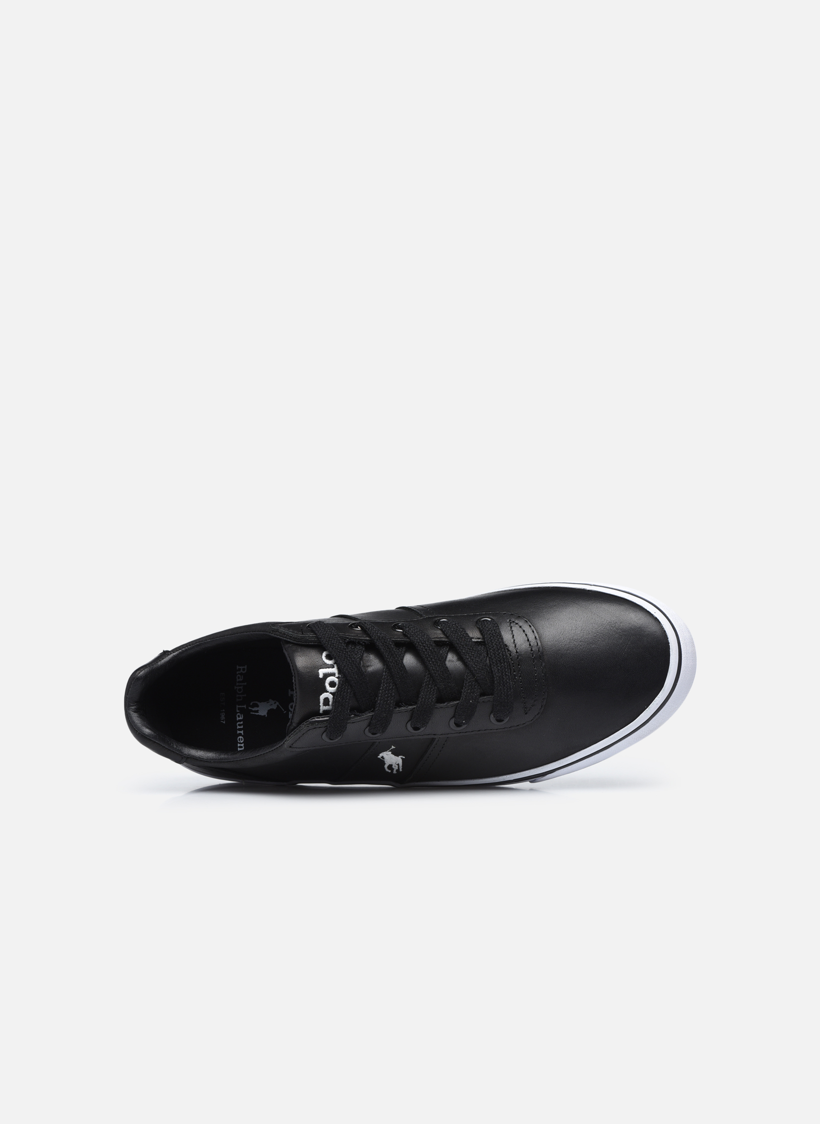 Trainers Polo Ralph Lauren Hanford Black view from the left