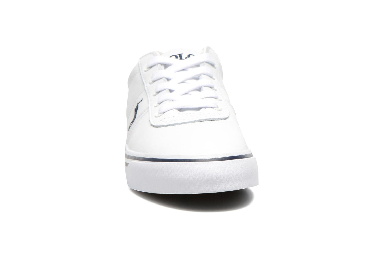 Sneaker Polo Ralph Lauren Hanford weiß schuhe getragen
