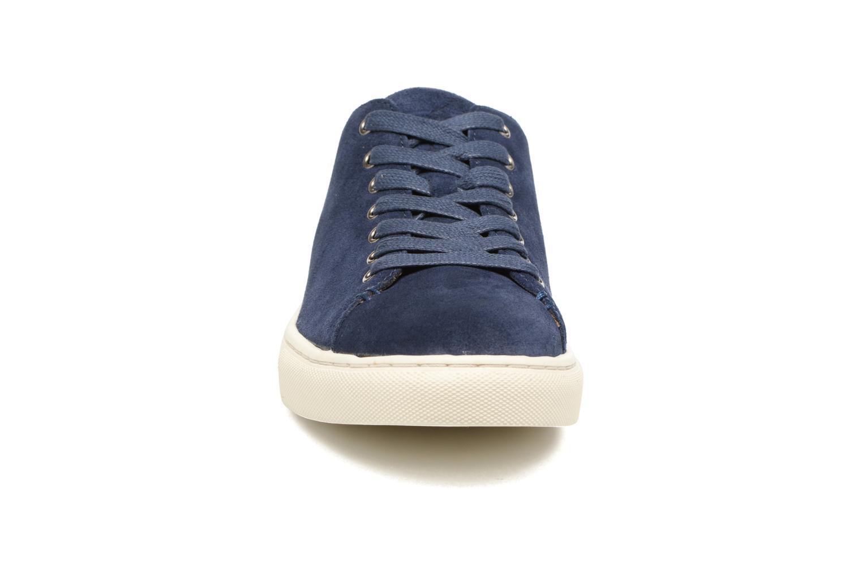 Sneakers Polo Ralph Lauren Jermain Azzurro modello indossato