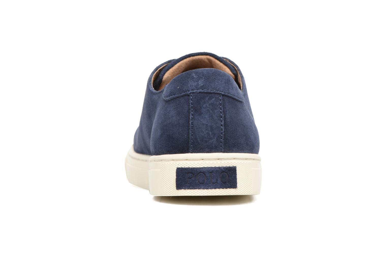 Sneakers Polo Ralph Lauren Jermain Azzurro immagine destra
