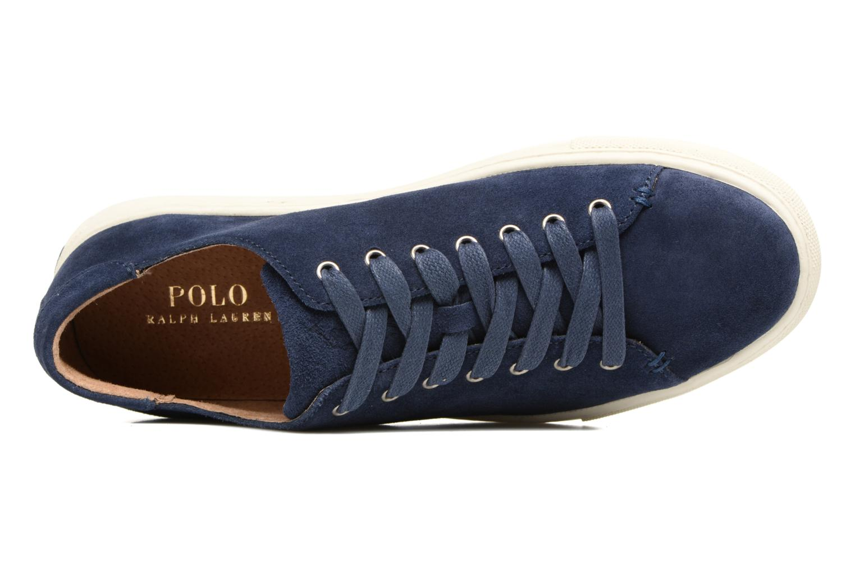 Sneakers Polo Ralph Lauren Jermain Azzurro immagine sinistra