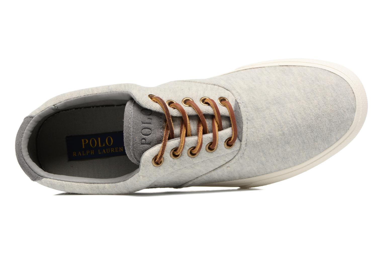 Sneaker Polo Ralph Lauren Vaughn-Ne grau ansicht von links