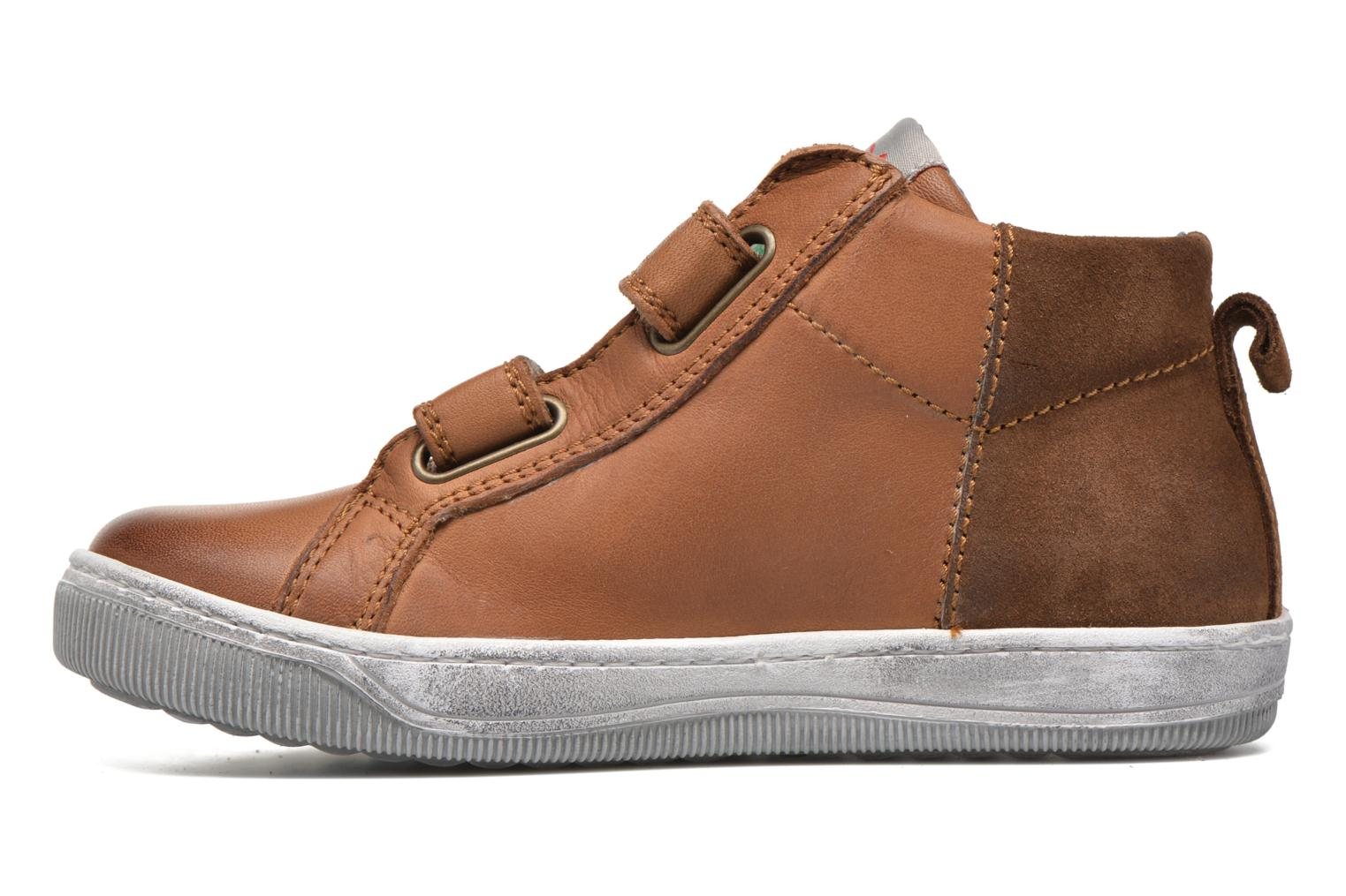 Trainers Naturino Play VL Brown front view