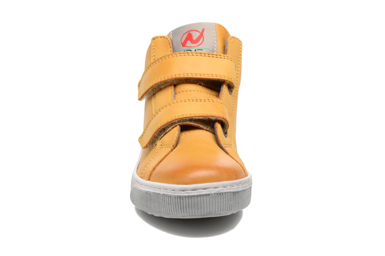 Sneaker Naturino Play VL gelb schuhe getragen