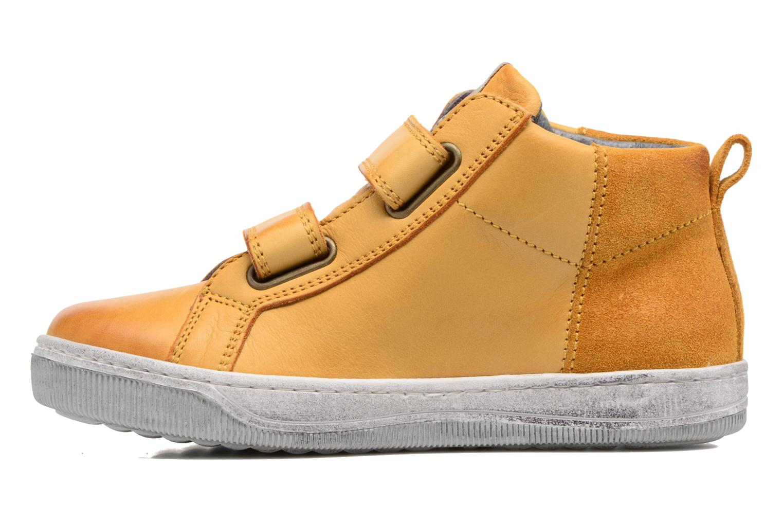 Sneaker Naturino Play VL gelb ansicht von vorne