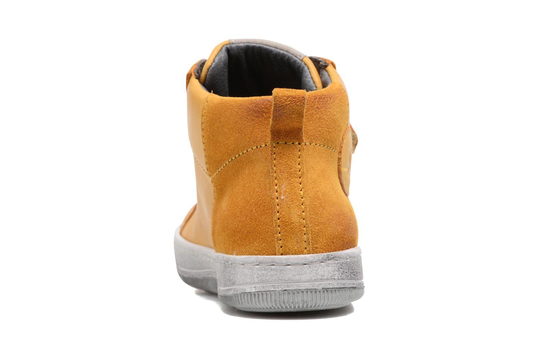 Sneaker Naturino Play VL gelb ansicht von rechts