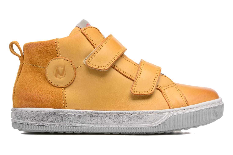 Sneaker Naturino Play VL gelb ansicht von hinten