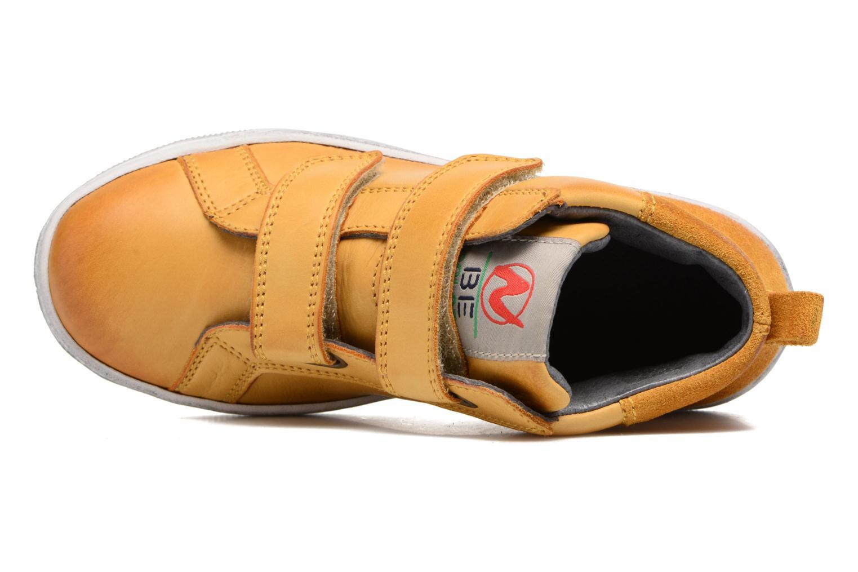 Sneaker Naturino Play VL gelb ansicht von links