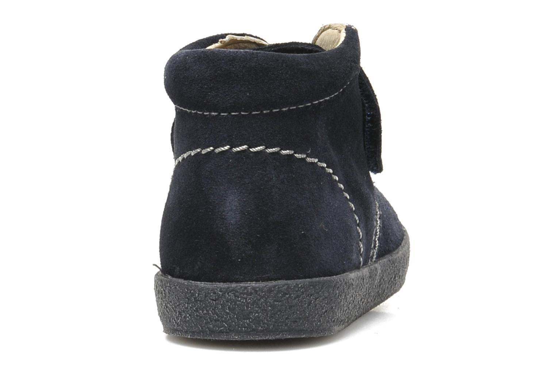 Zapatos con velcro Naturino Mimix 246 Azul vista lateral derecha