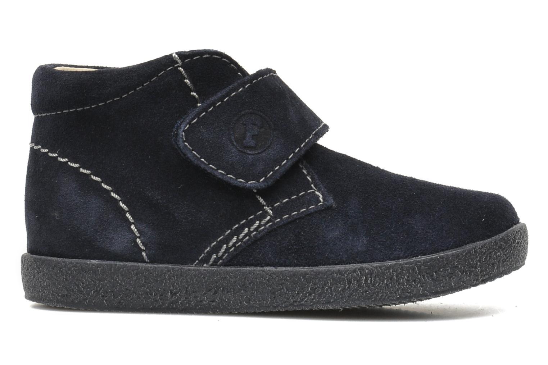 Zapatos con velcro Naturino Mimix 246 Azul vistra trasera