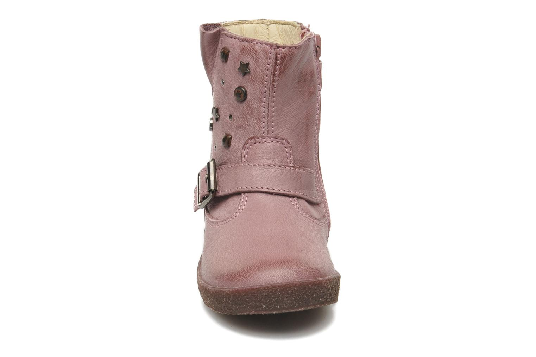 Bottes Naturino Choupi 1341 Rose vue portées chaussures
