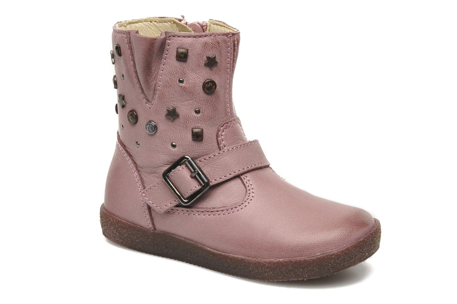 Boots & wellies Naturino Choupi 1341 Pink detailed view/ Pair view