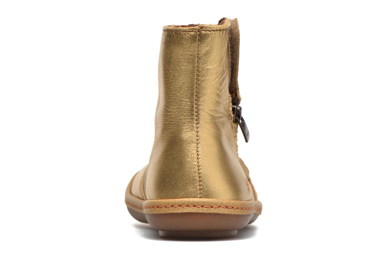 Bottines et boots Art A658 Kio Or et bronze vue droite