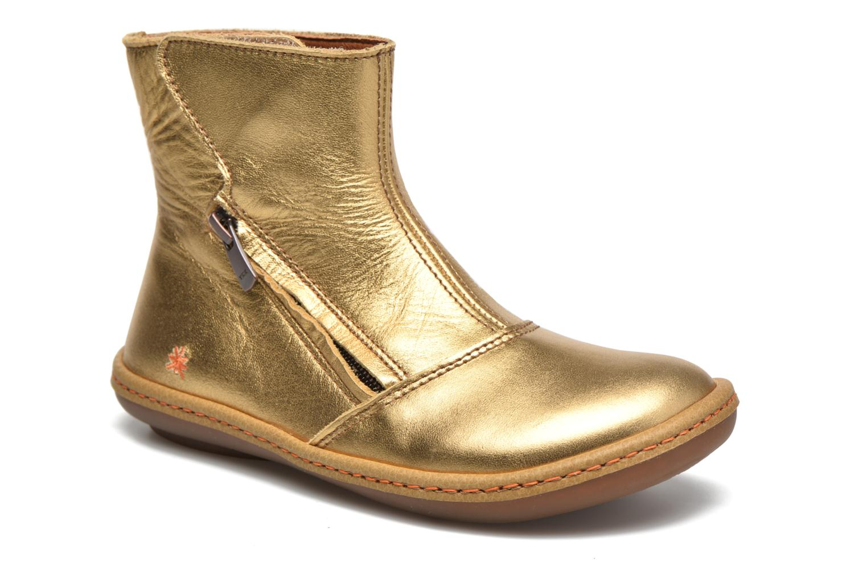 Bottines et boots Art A658 Kio Or et bronze vue détail/paire