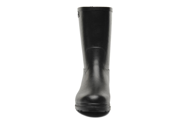 Stiefel Aigle Duvay Fur schwarz schuhe getragen